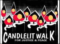 Candlelit Walk - Original Art Work - Ruth Fanant